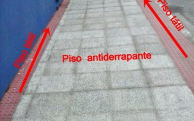 Construção e adequação de calçadas