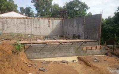 Estruturas de contenção: muro de arrimo